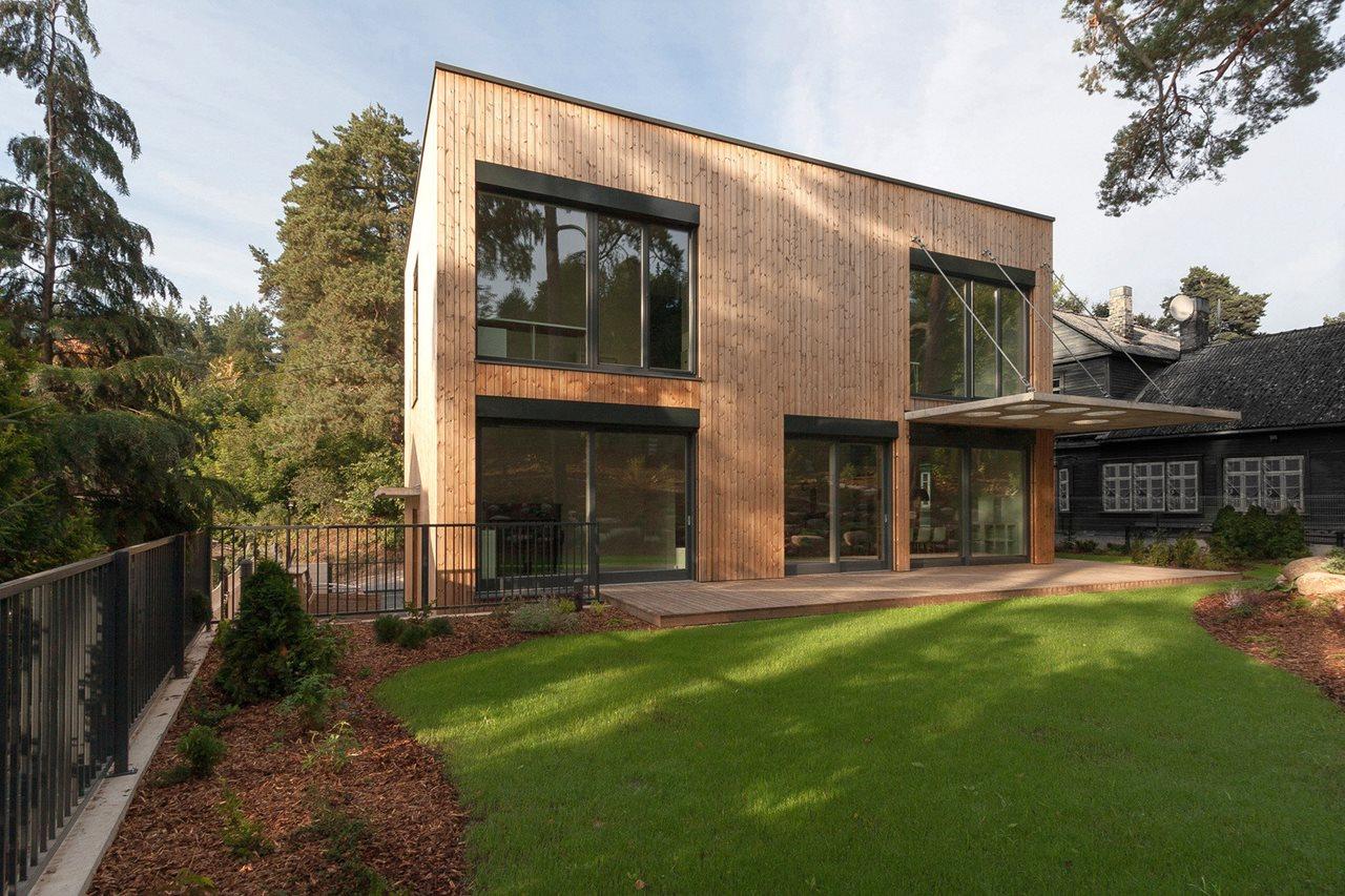 Maison Ossature bois Transilvanie